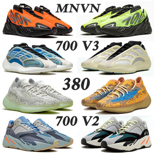 2020 New Kanye West Frauen Schuhe Männer Adidas Yeezy Boost 700 v3 yezzy wave runner 700 v2 MNVN Running Shoes Men Women Azael Alvah Alien Mist Vanta Trainers Herren Damen Sneakers