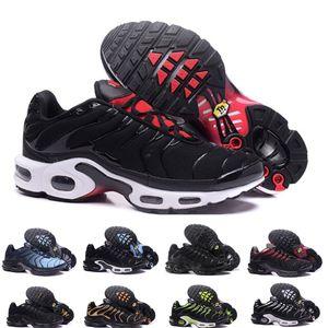 Nike Air Max Plus Tn 2019 Marca New ar Lace respirável Crianças Crianças Tênis de corrida do esporte criança menino menina Sneakers EUR tamanho 28-35