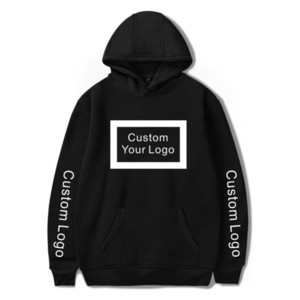 WAMNI Hoodies Men Woman Customized Print wholesale Sweatshirts Cotton Hooded Unisex Streetwear Drop Shipping 0915
