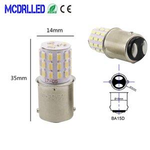 24V에 Mcdrlled 자동차 LED 라이트 R10W G18 LED Blubs 1156 BA15S 1157 BA15D BAY15D 보트 신호등 자동 소스 (12)