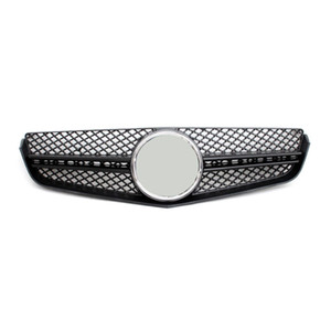 For E CLASS W207 Racing grille ABS Material Grille For E CLASS180 2010-2013 Replacement Mesh Grille