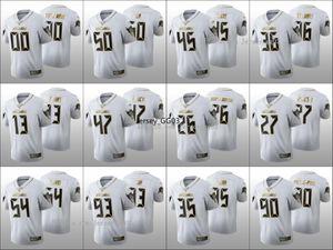 TampaBaiaBuccaneersMen # 13 Mike Evans 45 Devin Bianco 54 Lavonte David Donne gioventù personalizzatoNFL 100 ° Oro Edizione Jersey