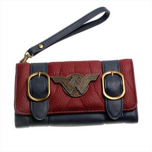 2019 NEW Wonder Woman Wallet DC Comics New long wallet PU Leather Money Clip card wallet