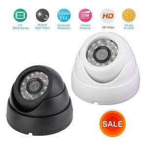 1200TVL CCTV тестер HD наблюдений внутри помещений купольной камеры HD CM 24 3.6мм Инфракрасного CCTV камера безопасность 10M ночное видение TV