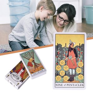Versión de Tarjetas 78sheets Full Deck Inglés Tarot Tarot El Modern Family Card Game Bruja en ciepG hotclipper