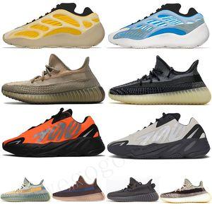 Adidas Yeezy Boost 350 Disponibile! Eliada Abez zolfo Asriel Oreo salvia del deserto di cenere riflettente Uomo Scarpe Running Tela Marsh triple nero Womens V2 Sport Sneakers