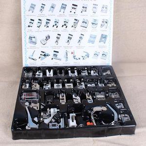 32Pcs / set Dikiş Makinesi Ayak Ayaklar Snap İçin Kardeş Singer Baskı Ayağı Setleri Yurtiçi Dikiş Aksesuarları