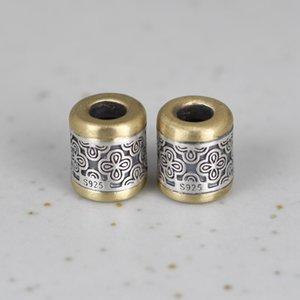 F9vm3 Golden Diy ноги цепи ювелирного изделия Deer King S925 серебра ремесло китайского образец стиля ручной поделки ювелирных изделий рука веревка ножного ствол бусы Sil