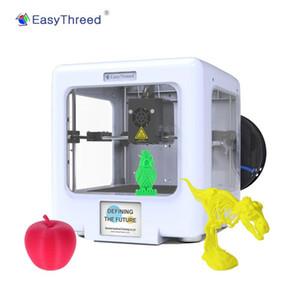EasyThreed ET-5000 Mini Masaüstü Tamamen Çıkarılabilir Manyetik Platform Desteği WiFi APP 90 * 100 * 110mm ile 3D Printer Montajlı
