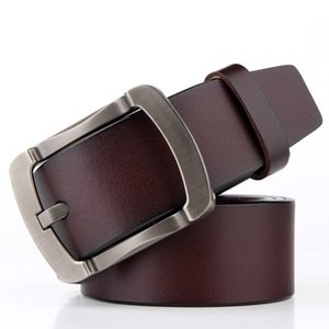 2020 Hot Sale Explosion Men Pin Buckle Leather Leather Belt chun niu pi Male Vintage Casual Waistband Belt