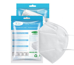 kn95 Maske FFP2 Gesichtsmaske Designer Aktivkohle Atem Respirator Ventil KN95 Mundmasken Anti-Staub-Anti-Schleier schwarz grau weiß facemask