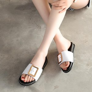 New Women Fashion Women's Slippers 2020 Summer Non-slip Soles Casual Slippers Ladies Flats Beach