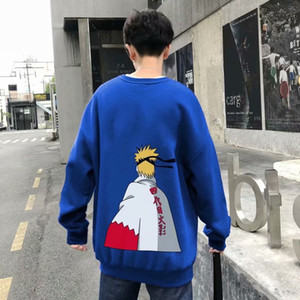 Anime Naruto Hoodie Streetwear Couple Winter Jacket Fashion Loose Cartoon Naruto Japan Hooded Sweatshirt Unisex Hoodie Mens