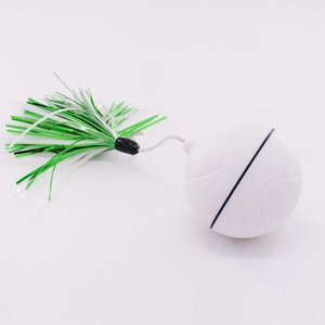 Funny Cat Laser Toy Ball LED Laser Electronic Flash Rolling Ball Perfect Toy Cat Interactive Pet Supply