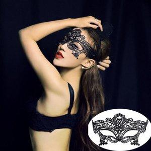 m mismo Novo Design máscara misteriosa Mulheres Sexy Eye Hot Vendas Masquerade Decoração Charming Black Lace para Halloween Party