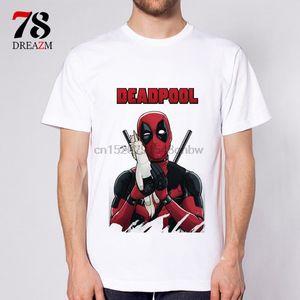 78DREAZM Deadpool Hemden der Männer t-shirts Karikatur-T-Shirt Männer Unisex neue Art und Weise T-Shirt oberste freien Verschiffen ajax 2018 lustig (4)