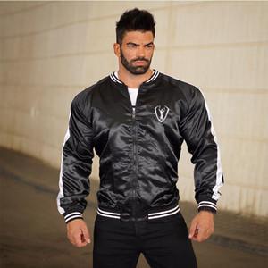 HETUAF высокого качества нового Мужской Bomber Jacket Zipper Мужского Повседневный Streetwear Hip Hop Slim Fit Pilot пальто Мужской одежда