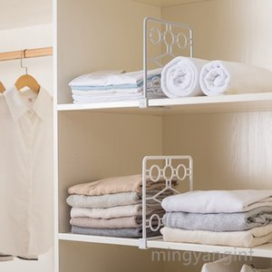 Versatile Closet Shelf Divider and Separator for Storage and Organization in Bedroom, Bathroom, Kitchen and Office Shelves MY-inf0273