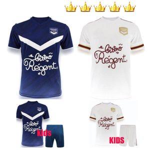 홈 떨어져 남자 아이 (20 개) (21) 지롱 댕 보르도 축구 유니폼 2020 2021 타이츠 드 발 BRIAND S.KALU KAMANO BENITO BASIC 축구 셔츠