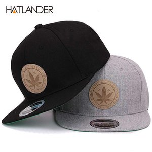 [HATLANDER] القيقب الصلبة القطن القبعات snapback القبعات النسائية شقة الهيب هوب حافة قبعة في الهواء الطلق قبعة بيسبول العظام gorras الرجال القبعات وقبعات