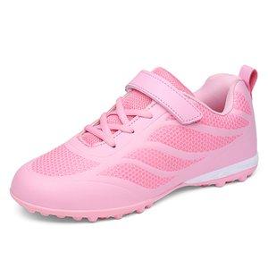 ZHENZU 축구 부츠 여성 어린이 축구는 여자 교육 chuteira Futebol 팀 voetbalschoenen 신발