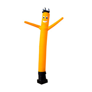 Inflables nuevos muñecos publicitarios señas alta tubo inflable masculina conjunto completo bailarín del aire hombre molde de aire arco de 2m con el soplador