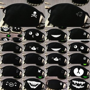 Facemask Breathability Mask Glow in the Dark Skeleton Face Bandana Masks Comfort and Hj2009 Xnfzt in Stock56363