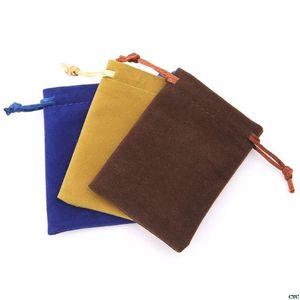 Deck Velvet Board Package Dice Bag Jewelry Storage Mini Toy Tarot Drawstring Bags 5pcs Cards Game orumL xjfshop
