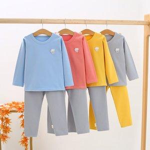 CHILDREN'S Underwear Suit Pure Cotton BOY'S Thermal Underwear Big Kid Boy Pajamas Kid Cotton Thermal Clothes