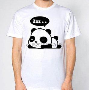 Panda Sleeping Tişört zzz Yorgun Erteleme Şu saate Yatak Uyku Üst