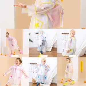 bambino all'asilo cartella poncho per bambini vestito cappotto Px3io Girls' pupille stivali da pioggia Schoolbag mantello stivali da pioggia ragazzi