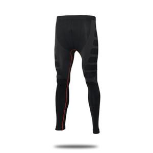 Yuerlian Erkekler Sıkıştırma Sıkı Uzun Pantolon Yoga Spor Vücut Geliştirme Pantolon Hızlı Kurutma Spor Skinny Tozluklar