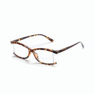2021 New Anti-UV UV400 Blue Light Glasses Blue Light Blocking Glasses Men Women Sexy Leopard Frame Computer Goggles NX