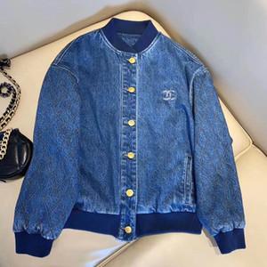 Mittelalterliche Cowboy Baseball-Uniform! Retro breites Wasser Jeans blau hochwertige Produkte waschen! Der oberen Teil, dass Tie-in Erdfarbe Verschlüssen