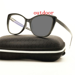 Transition Sunglasses Photochromic Reading Glasses progressive resin lens distance dual progressive multifocal glasses UV400 NX