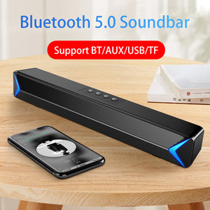 Wired and Wireless Speaker Home Theater Soundbar Bluetooth Bass Surround Subwoofer Portable Stereo FM Radio