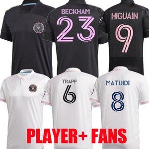 Player-Version 2020 2021 MLS inter Miami CF Fußball Jerseys 20 21 Higuain TRAPP PIZARRO PELLEGRINI Matuidi BECKHAM IHN KIND Fußballhemden