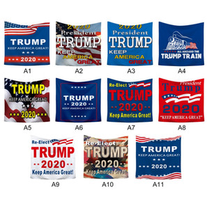 Trump 2020 Thème Hanging Tapisserie Wall Art Décor Sofa Table Couvre-lit mural Beach Blanket Trump tapisserie