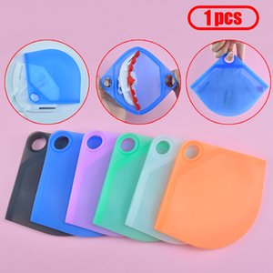 Portable Reused Face Masks Silica Gel Organizer Dustproof And Moisture-proof Cover Holder Case Storage Isolate bacteria Bag