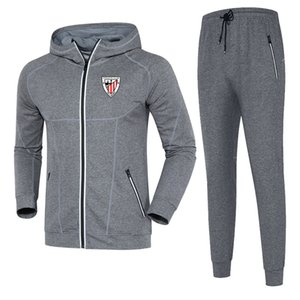 Athletic Club 2020 autumn and winter suit football training suit mid-length DIY custom men's sports running wear men's casual sportswear