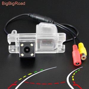 BigBigRoad For Mitsubishi Triton L200 Sportero Strada 3 1995-2006 4 Car Intelligent Track Rear View Camera
