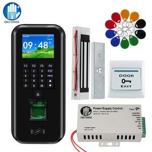 التحكم بالوصول IP بصمات الأصابع شبكة RFID TCP / النظام مع برنامج كلمة لوحة المفاتيح امدادات الطاقة الكهربائية أقفال الأبواب