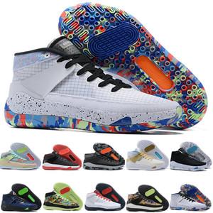 2020 بنين الاطفال كيفن دورانت KD 13 13 KD13 XIII أحذية تكبير الشباب للبنات للنساء لكرة السلة متعدد الألوان النخبة الاحذية الرياضية أحذية رياضية EUR 36-39