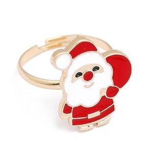 Brinquedos Ano Novo Anel de Natal encantador Noel Xmas Papai Noel enfeites de Natal Decoração Para Casa Navidad Decor feliz da criança