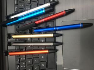 Metal Stylus Pen Capacitive Screen Highly Sensitive Touch Pen Office Multifunctional Tool Corkscrew Ballpoint Pen VT1680