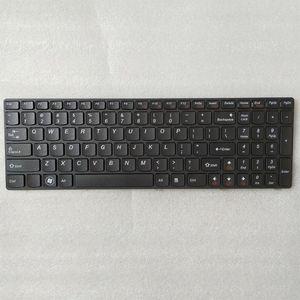 Ücretsiz kargo!! Lenovo B570 B575 B575E Z570 Z575 V570 V570A V575 B590 için 1PC Yeni Laptop Klavye Stok