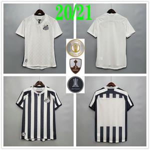 2020 2021 Santos FC Soccer Jerseys Soteldo Rorrygo Pato Gabriel Dodo Renato Sasha Custom 20 21 Home Away Black White Football Hemd Uniform
