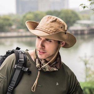 New outdoor folding hat female summer dry fisherman hat sun hat mountaineering cap