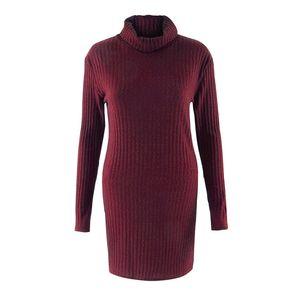 Dugujunyi Casual women Pullover Rollkragen Pullover Pure Color Langarm Kurz Frauen Pullover Y200910