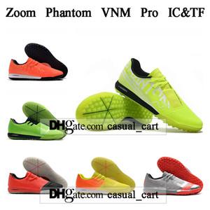 HEDİYE ÇANTASI Mens Yüksek Futbol Boots Yakınlaştırma Phantom VNM Pro IC TF Futbol Ayakkabı Tops Fantom Venom Kapalı Futbol Profilli